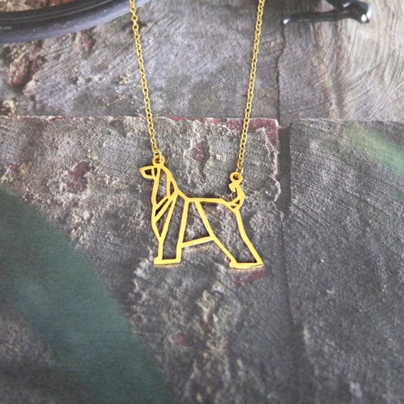 Cute Afghan Hound Necklace Female And Male Gift Jewelry Necklace--12pcs/Lot(6 Colors Free Choice)