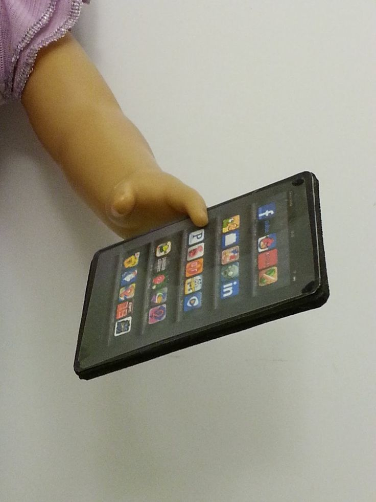 American Girl Doll Crafts and Fun!: Christmas Craft Series Gift Ideas for Dolls #2: Make a Tablet for Your Doll