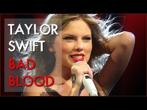Taylor Swift – Bad Blood [Lyrics]