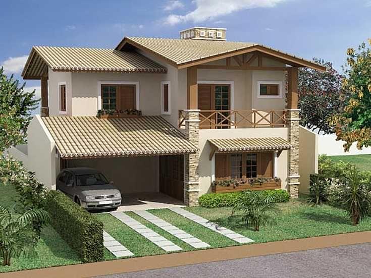 casa-de-praia-garagem - Decoração de Casa