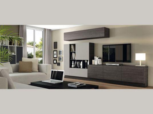 Fotografía de Muebles de salones modernos ACQUA de LANMOBEL #muebles