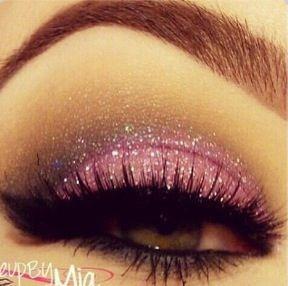 Pretty pink eye