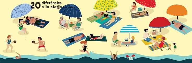#anaseixas #newdivision #illustration #beach #holiday #character