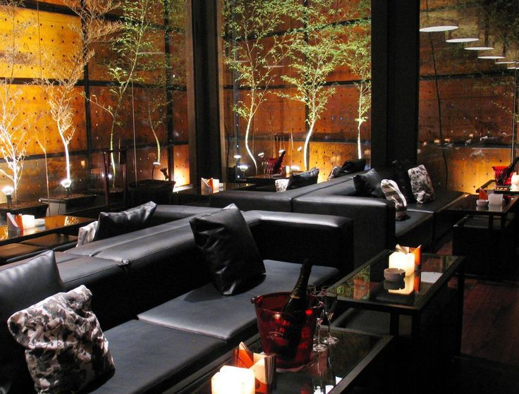 Small Restaurant European Contempoary Decor Taboo Lounge