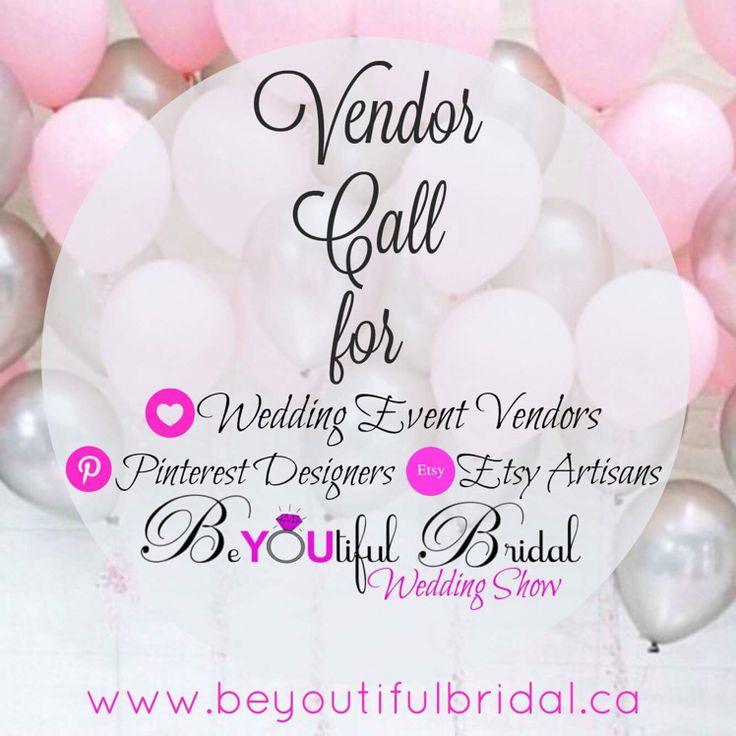 VendorCall  — Connect and meet local couples in our community. Introduce yourself and present yourself with some of the top businesses in your community.  BeYOUtifulBridalWeddingShow is waiting to hear from you!  Two Great Shows to choose from Feb 19 ~Meadow Gardens Golf Club  Feb 22 ~Guildford Golf
