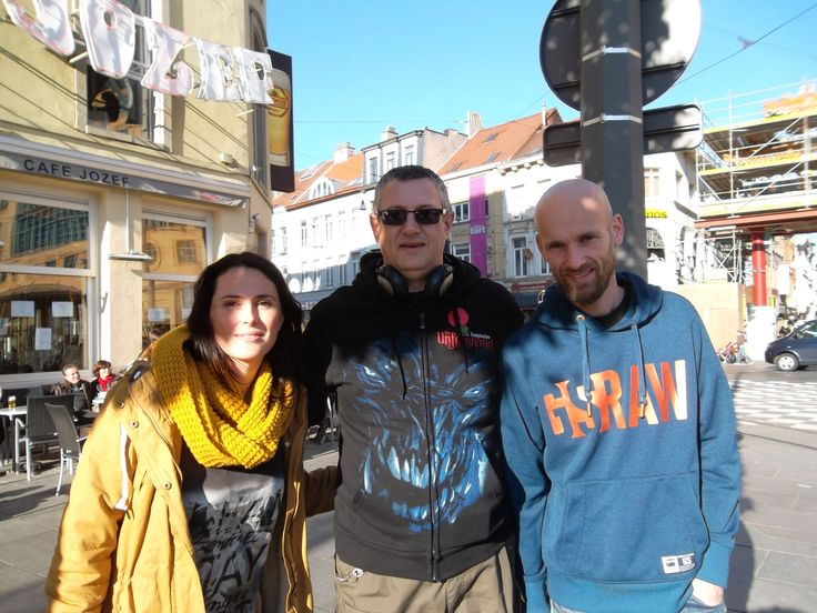 """""""I also managed to get a photo with you guys the morning after Elements."""" By Matthew Watkinson"""