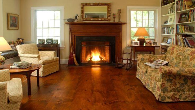 Eastern White Pine Living Room