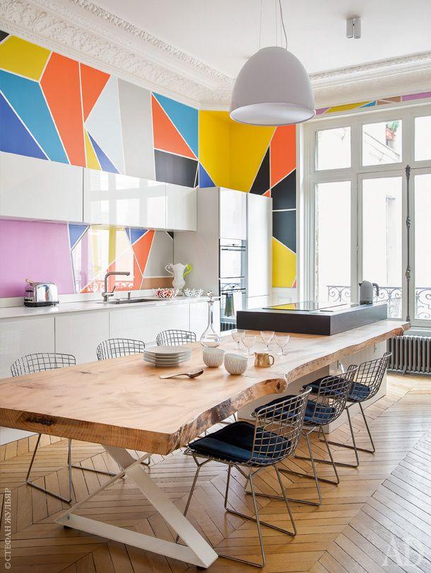 Квартира в Париже, архитектор и декоратор Алиреза Разави