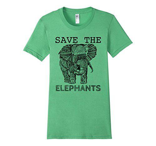 Women's Elephant shirt- Save the Elephants american apparel, conserve, conservation, animals, animal, save the elephants, amazon, elephant shirt, save the rhinos, rhino shirt, rhino, ivory, africa