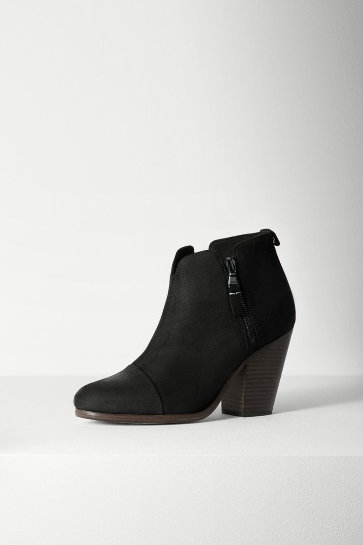 Celebrities who wear, use, or own Rag & Bone Margot Suede Ankle Boots. Also  discover the movies, TV shows, and events associated with Rag & Bone Margot  ...