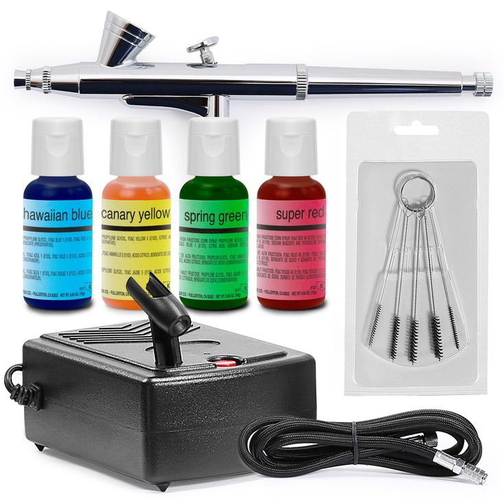 Artlogic Cake Decorating Airbrush Kit : 1000+ ideas about Cake Decorating Kits on Pinterest Cake ...