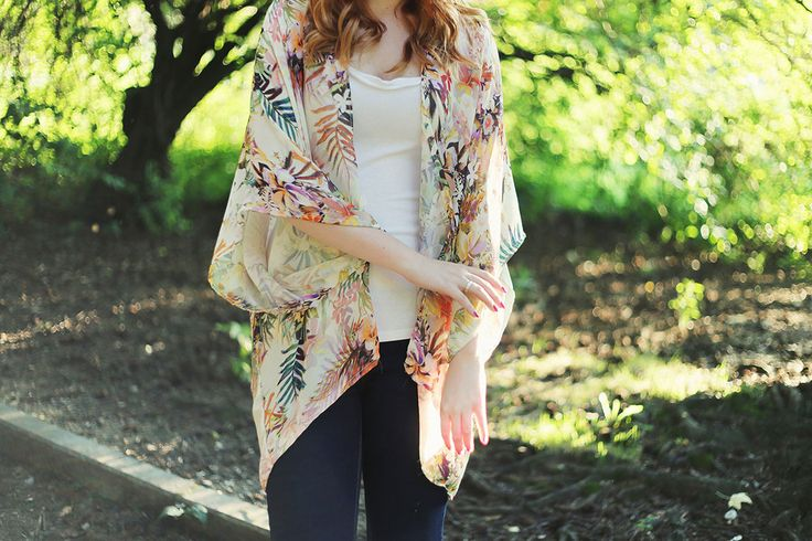 DIY a Kimono in 30 Minutes for Just $10! | Brit + Co