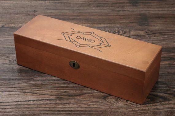 Personalized Watch Case Watch Box for Men Watch Storage