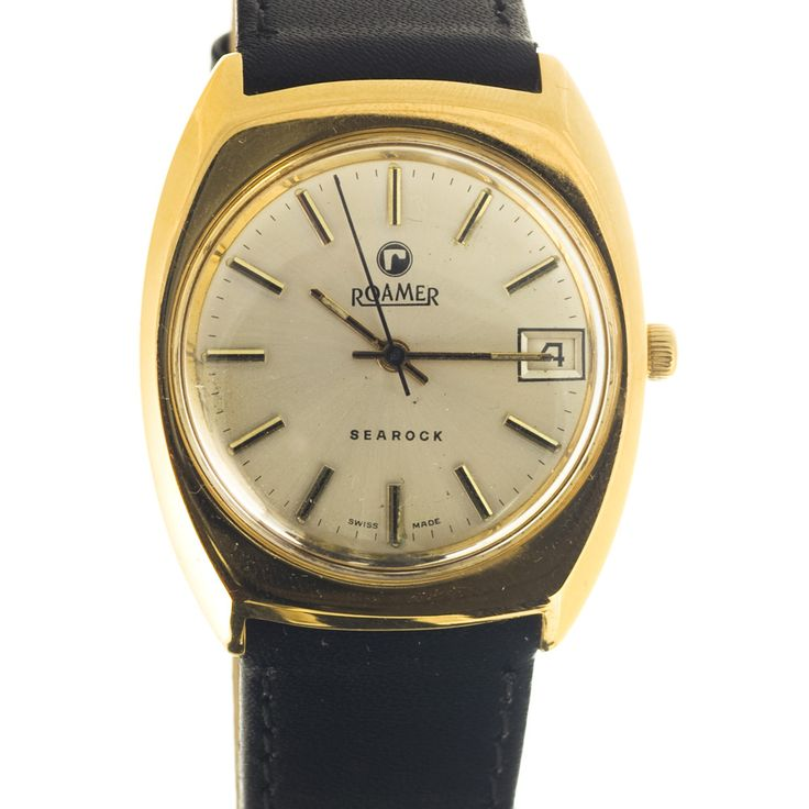 Roamer Searock watch from the 70s - date function at 3 o'clock