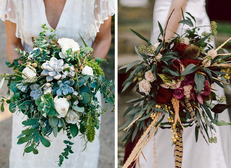 Gör fest- eller brudbuketten både personlig och vacker med unika inslag! Här är fem detaljer som gör buketten till något alldeles extra.