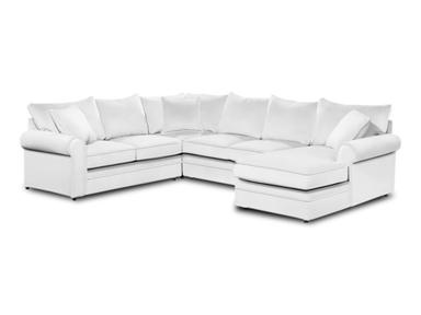 Shop For Craftmaster Sectional 7315 Sect And Other Living Room Sectionals  At Simpson Furniture Company In
