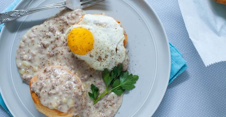 Biscuits and Porky Beer Gravy Recipe Primary Image