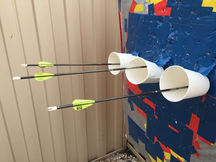 Paper cup training.  Got this idea from an instinctive archery video https://m.youtube.com/watch?v=uwVhXIc9SeY , but of course works equally well for those of us using sights.  I chose to use 3 cups instead of shooting 3 arrows into one cup to minimise damage to my arrows from tight groupings....a different way to train without using a target! S.
