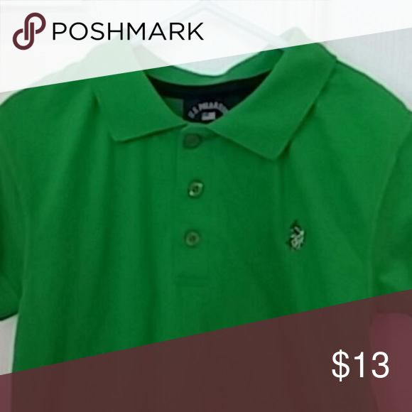 👫US Polo Association polo shirt US Polo Association polo shirt. Grass green color. 100% cotton. Size 4. Excellent condition US Polo Association Shirts & Tops Polos