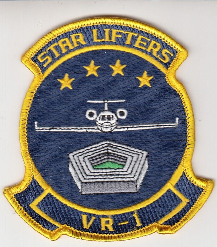 VR-1 STAR LIFTERS COMMAND CHEST PATCH