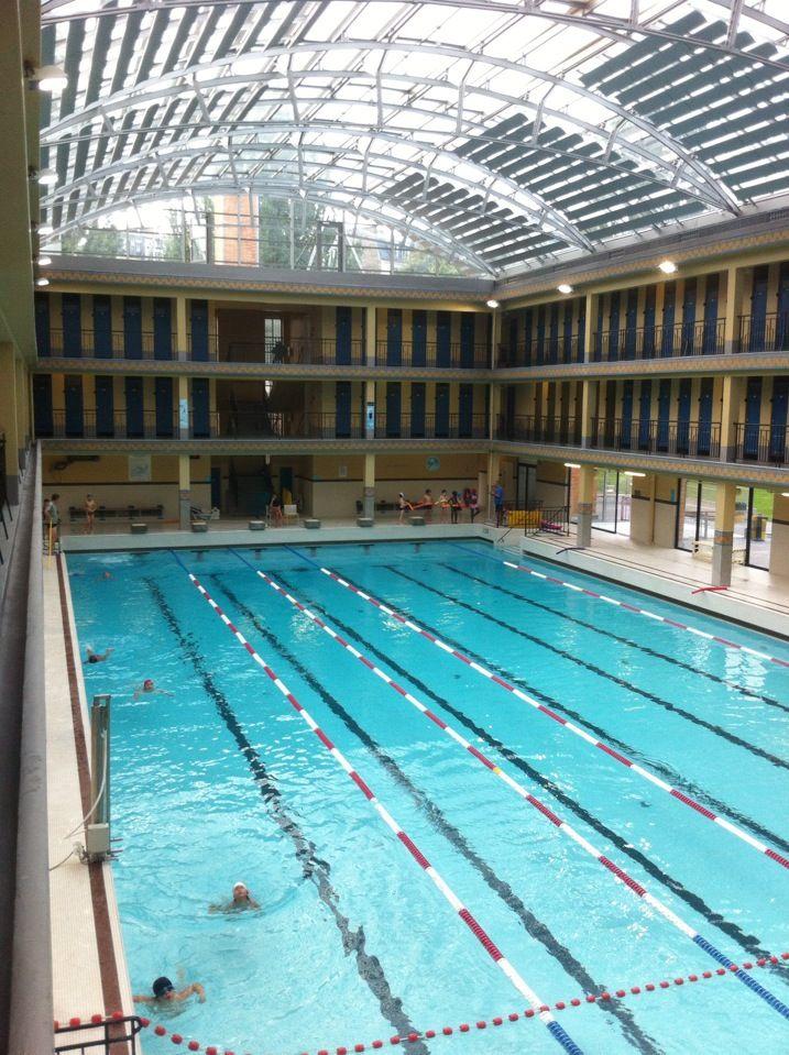 8 best le parcours des piscines parisiennes images on for Piscine pailleron