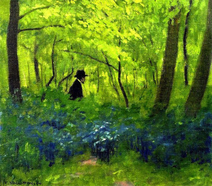 Felix Vallotton, The Satyr in the Bois de Boulogne, 1904