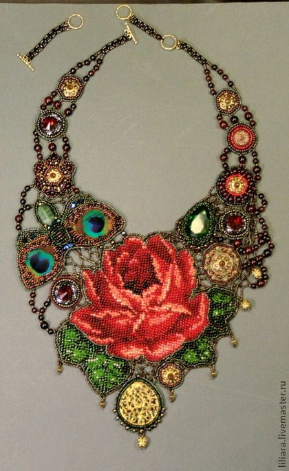This is an amazingly complex necklace as there are so many facets to it! Curleytop1.