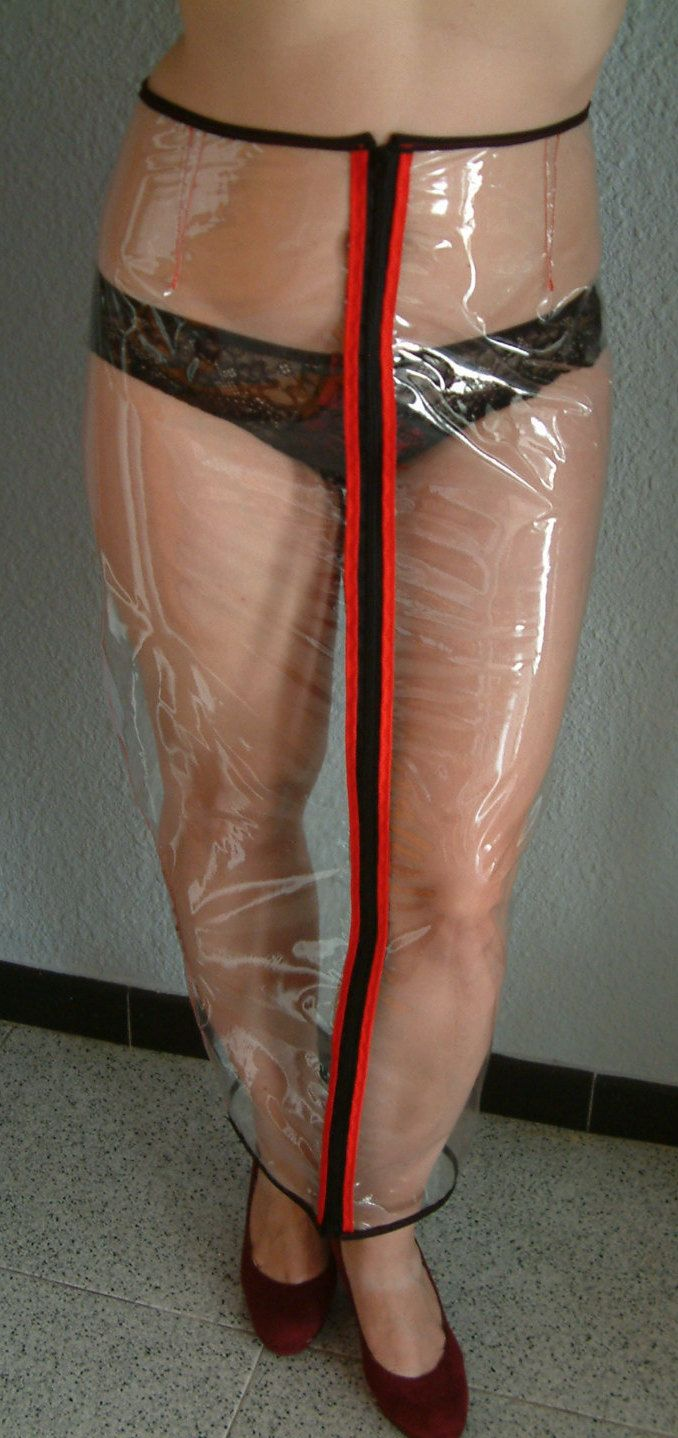 transparent pvc hobble skirt by anadincrafts on etsy pvc