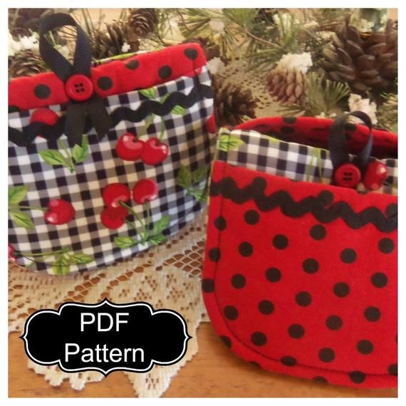 Pattern Download Mini Mitt Potholders Mini Pattern Pot Holders