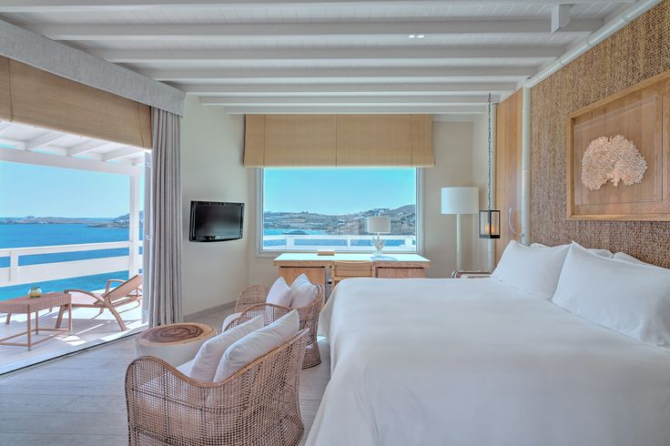 Deluxe Seaview Room   Santa Marina, A Luxury Collection Resort, Mykonos