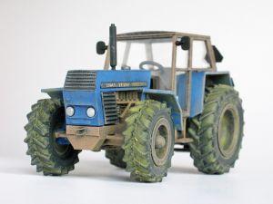 """Model ciągnika rolniczego produkcji czeskiej. Model plastikowy ręcznie złożony i ręcznie pomalowany w skali 1:43.   """"Zetor Crystal"""" (062014) - this is model of tractor, Czech production. Plastic model, hand-glued and hand-painted, in 1:43 scale models."""
