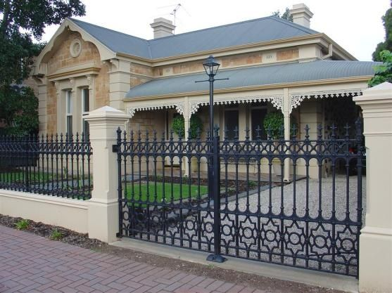 Wroght iron security fence designs by hindmarsh