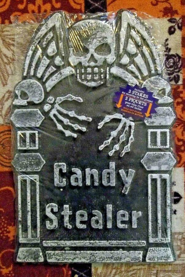 NEW! 6 Styles Tombstones//Gravestones Creepy Halloween Decor