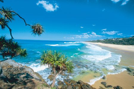 Noosa beach- just returned from a holiday here. It is a paradise on a spectacular day.