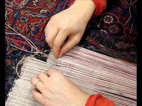 Restauro tappeti   Restauro tappeti antichi di frange bordi buchi
