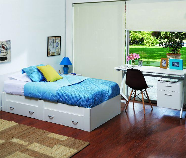 Dormitorio #Colors #Desing #Muebles2015 #Easy #EasyTienda #Marzo www