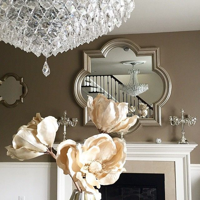 From z gallerie · our classically designed quatrefoil mirror is rendered in a beautifully molded frame finished in rich