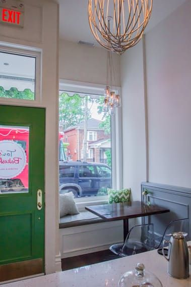 Name: Tori Vaccher of Tori's Bakeshop Location: The Beach, Toronto Size: 800 square feet Years lived in: 1.5 years To create the perfect blend of classy, clever and eco-conscious elements, sometimes you just have to do it yourself. That's what baker and entrepreneur Tori Vaccher discovered the hard way when she set out to open her first organic bakery and café. Frustrated after time wasted teaming up with an interior designer who didn't quite share her vision, Tori headed straight to NYC for…