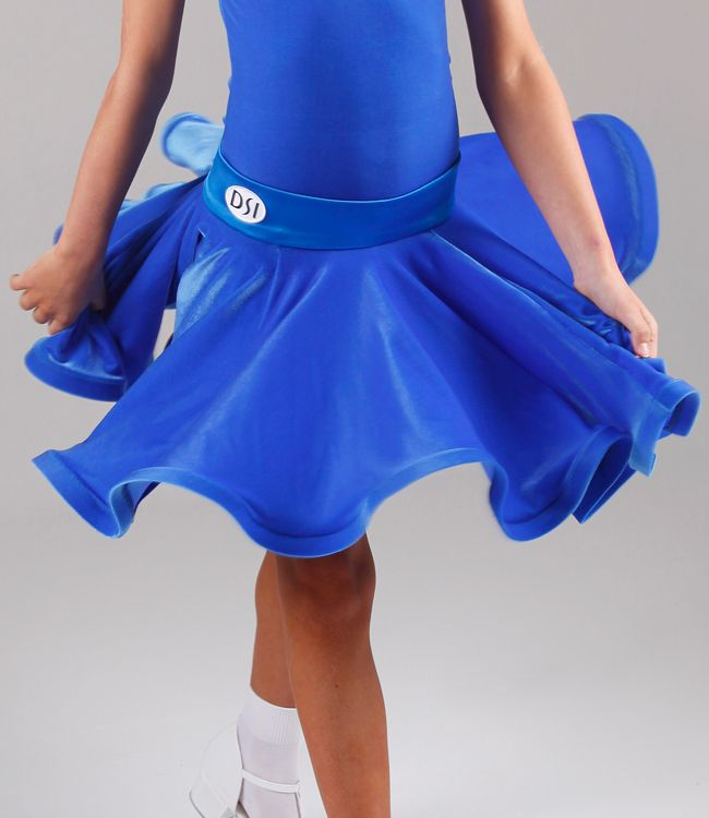 DSI Molly Juvenile Latin Dance Skirt 1091J| Dancesport Fashion @ DanceShopper.com