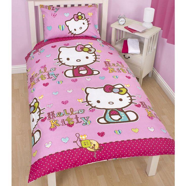 Hello kitty bedroom decor with wallpaper hello kitty ideas