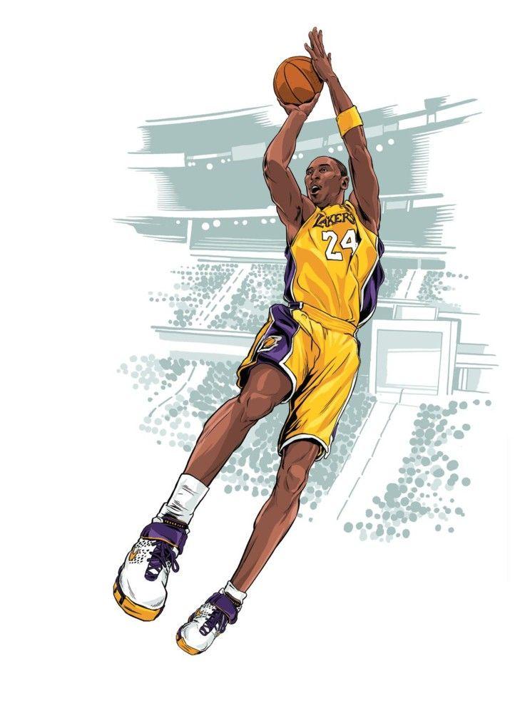 Kobe Bryant Los Angeles Lakers Stephen Halker Art Kobe Bryant Pictures Kobe Bryant Poster Kobe Bryant Wallpaper