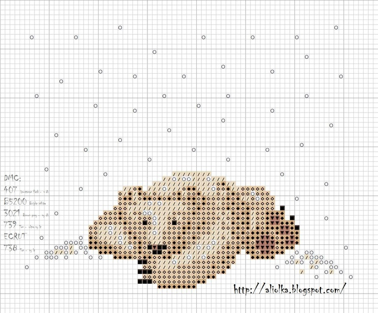 Knitting Pattern With Animals Motifs On : 63 best images about Charts & motifs for knitting/cross stitch etc. on Pi...