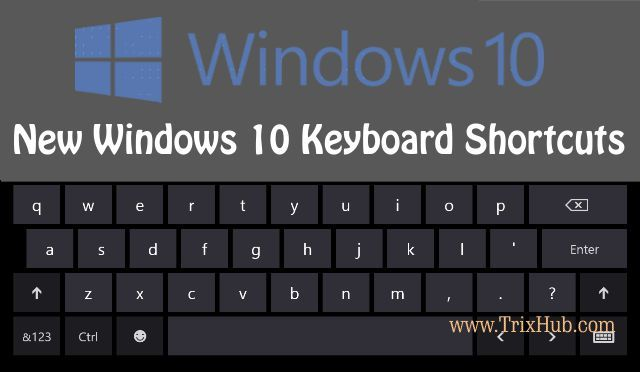 These are The New Keyboard Shortcuts in Windows 10 You Need to Know