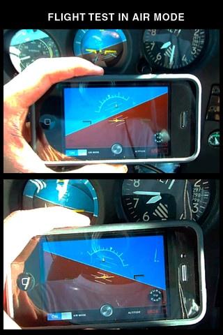 Aircraft Gyroscope Attitude Indicator for iPhone and iPad app