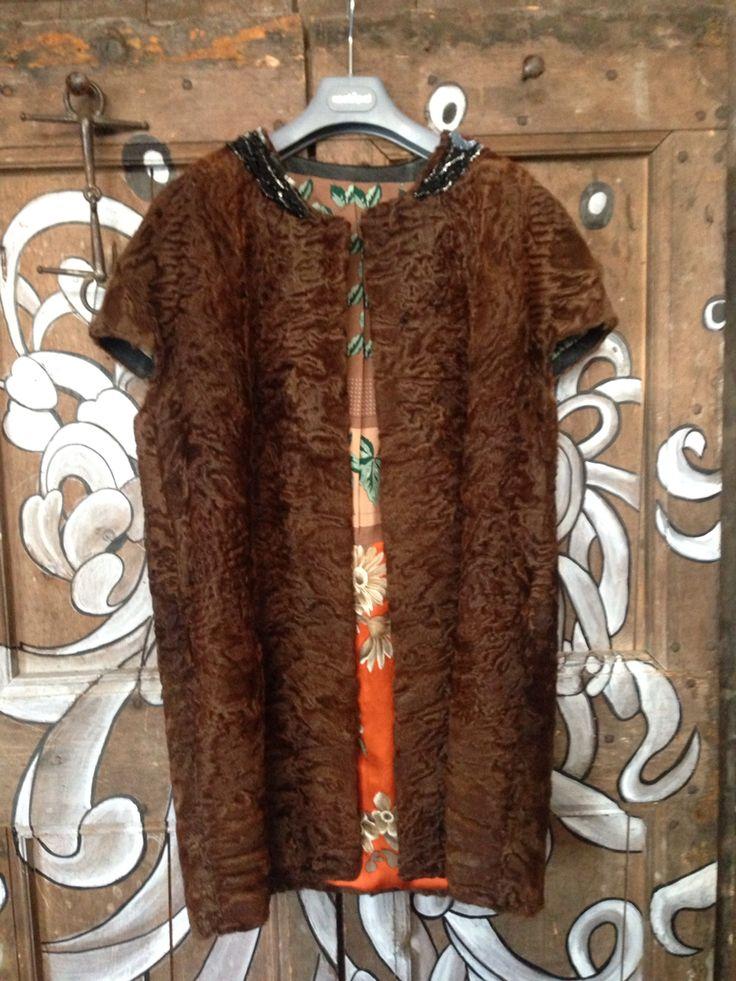 IBRIGU fur astrakan vintage