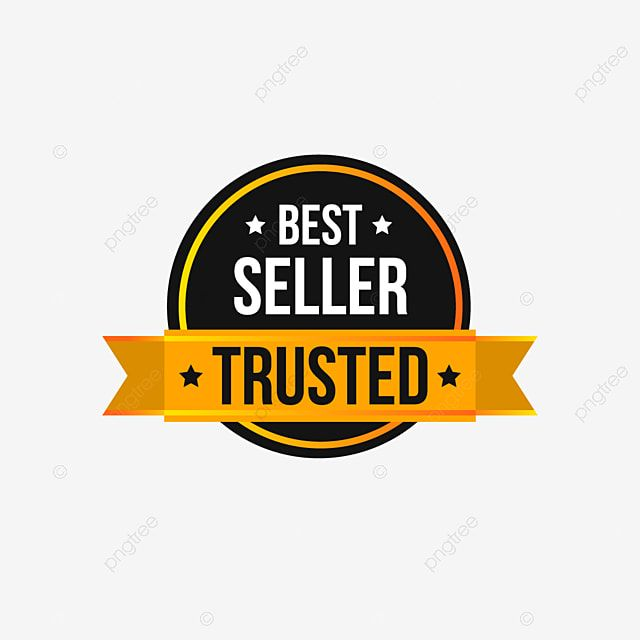 Trusted Best Seller Label Tag In Gold Style For Sale Promotion Discount Offer Tag Png And Vector With Transparent Background For Free Download New Sticker Sticker Design Geometric Background
