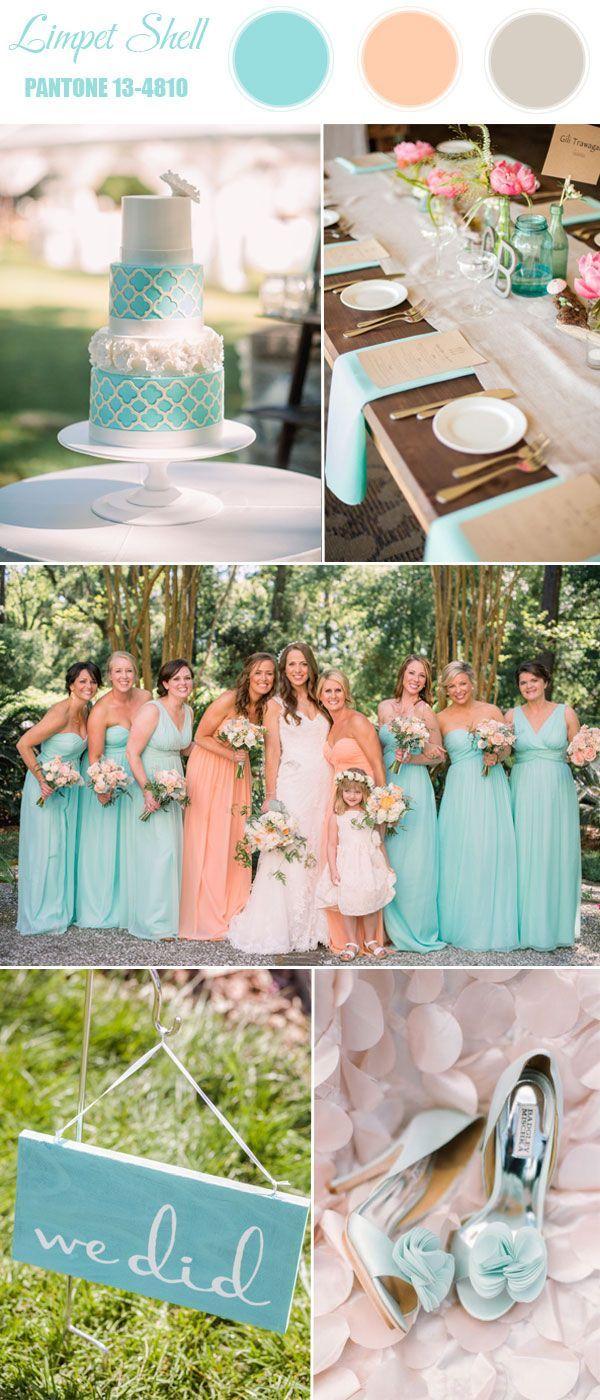 169 best Wedding Color Palettes images on Pinterest Marriage