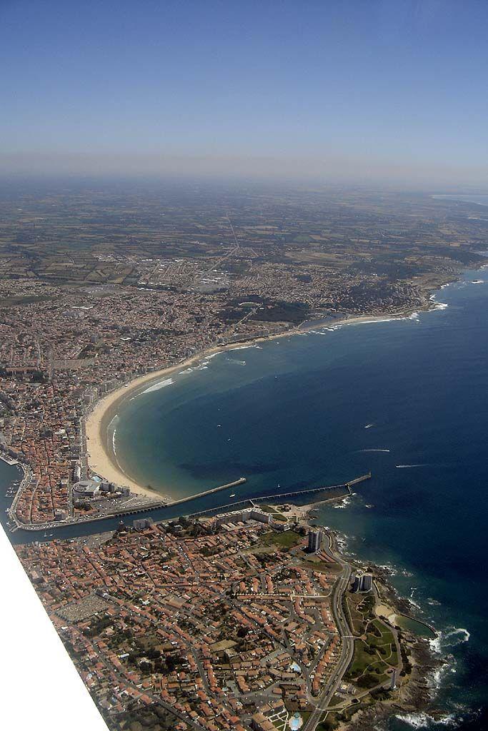 Photo aérienne de Les Sables-d'Olonne - Vendée (85)