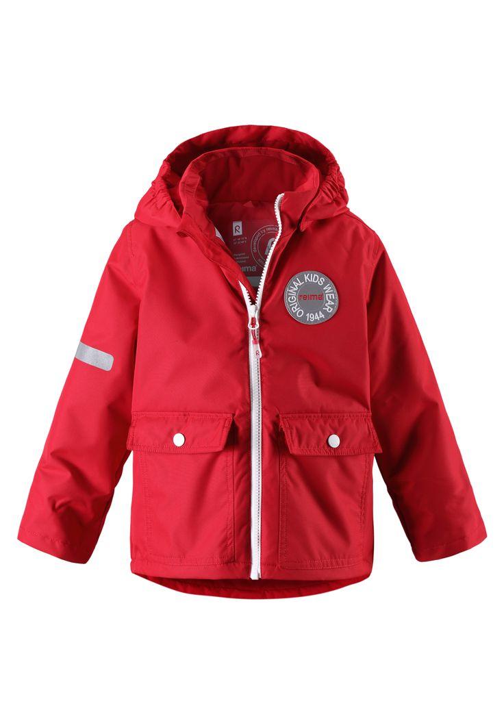 #ReimaAutumn2014 #Reima70 Taag Jacket reima red