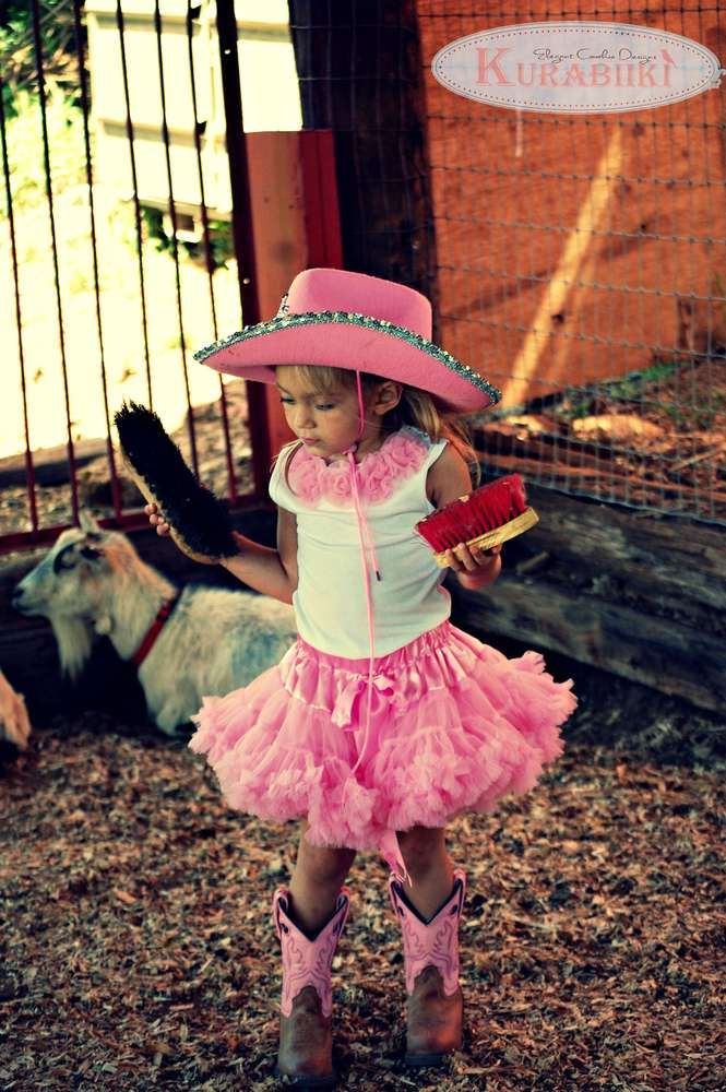 Cowgirl Birthday Party Ideas | Photo 1 of 27 | Catch My Party